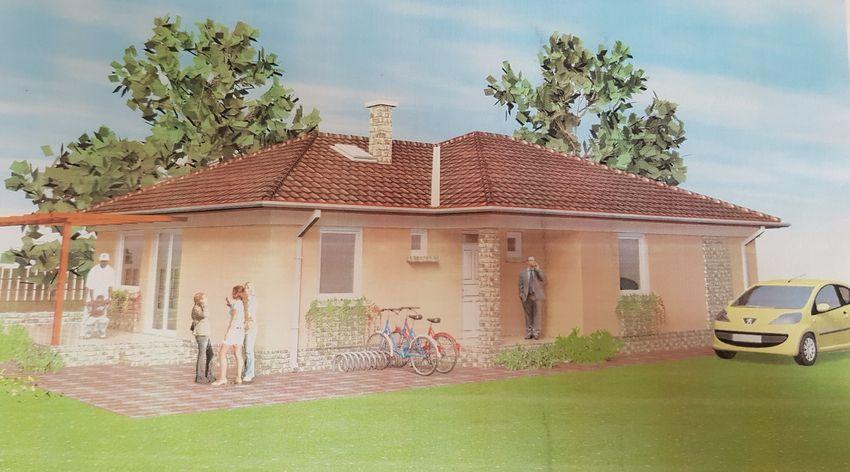Gyömrőn, családi házak között eladó egy új építésű, önálló családi ház!