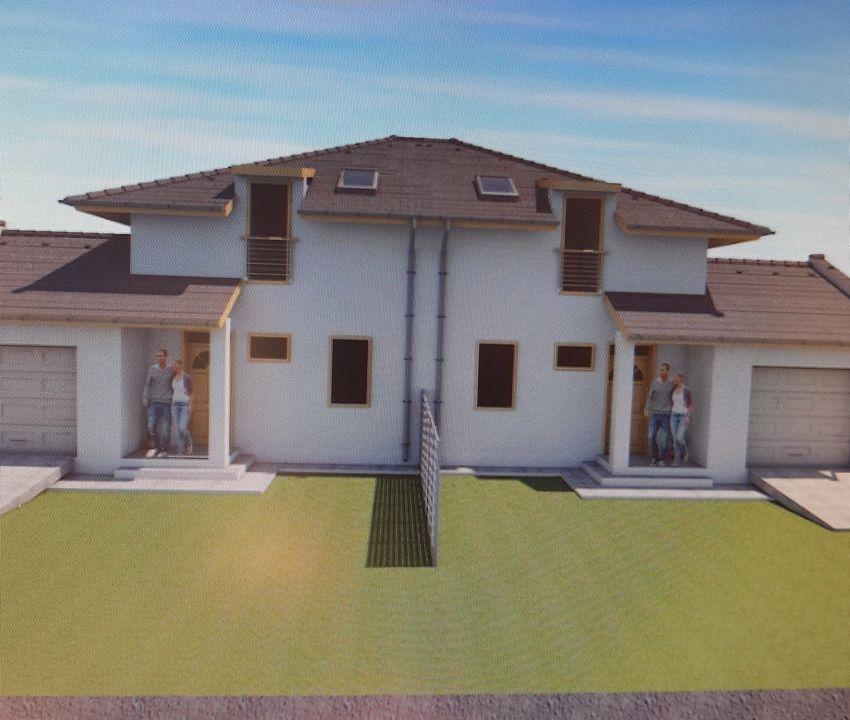 Gyömrő központjához közel, családias környezetben új építésű ikerlakás eladó!