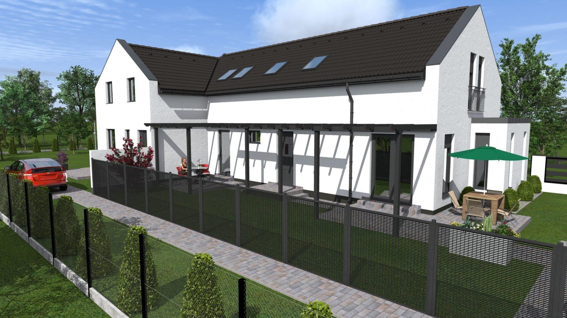 Cinkotán, családias környezetben eladó egy új építésű, belső kétszintes ikerházi lakás!