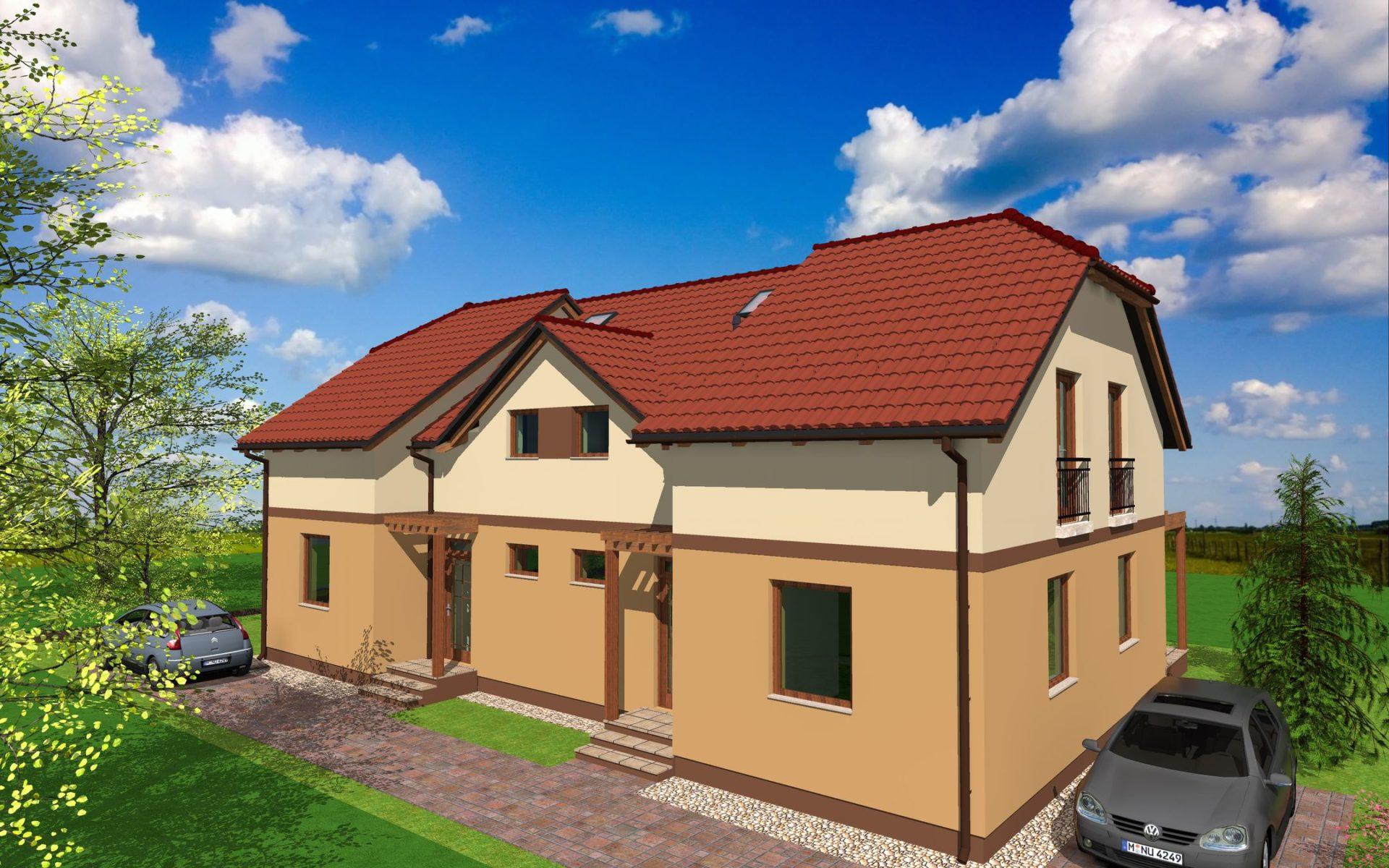 Gyömrőn,lakóparki,kellemes környezetben eladó egy új építésű ikerház!