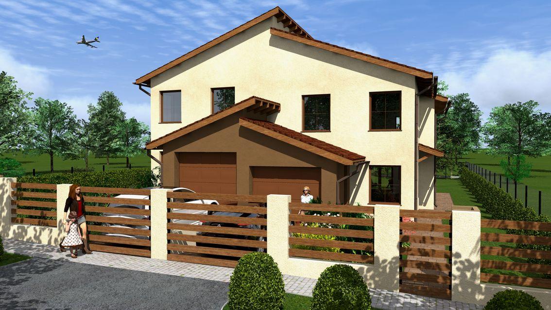 Budapest 17.kerületében, családi házas, csendes környezetben új építésű ikerlakások eladók!