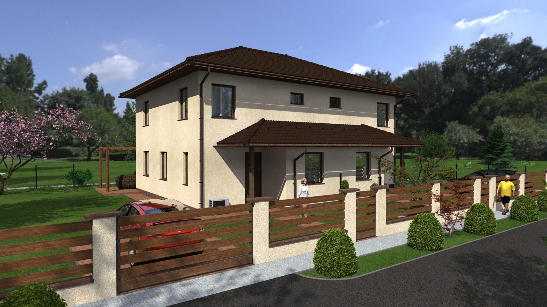 Vácrátót egyik lakóparkjában,nyugodt környezetben új építésű ikerlakások eladók!