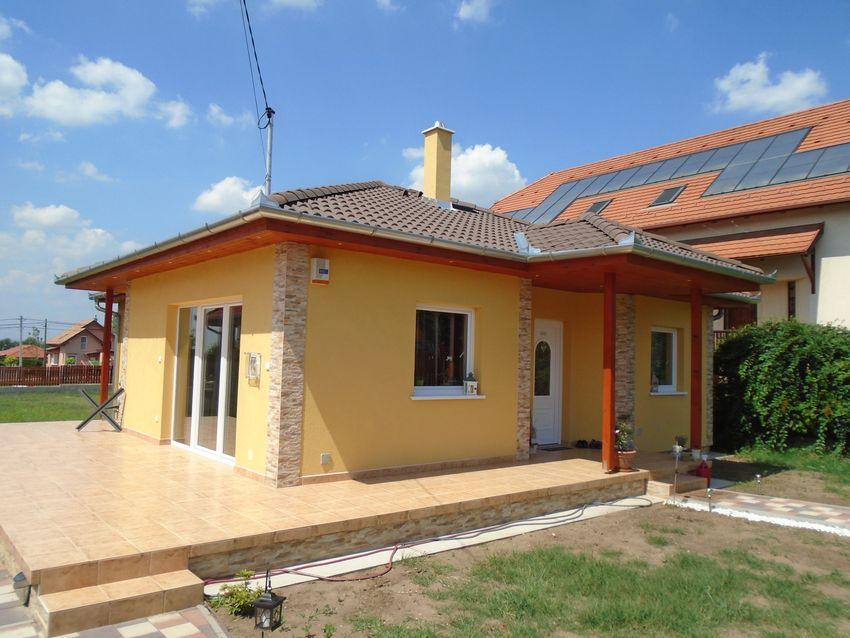 Ecser központjához közel,új építésű házak környezetében,önálló,új építésű családi ház eladó!