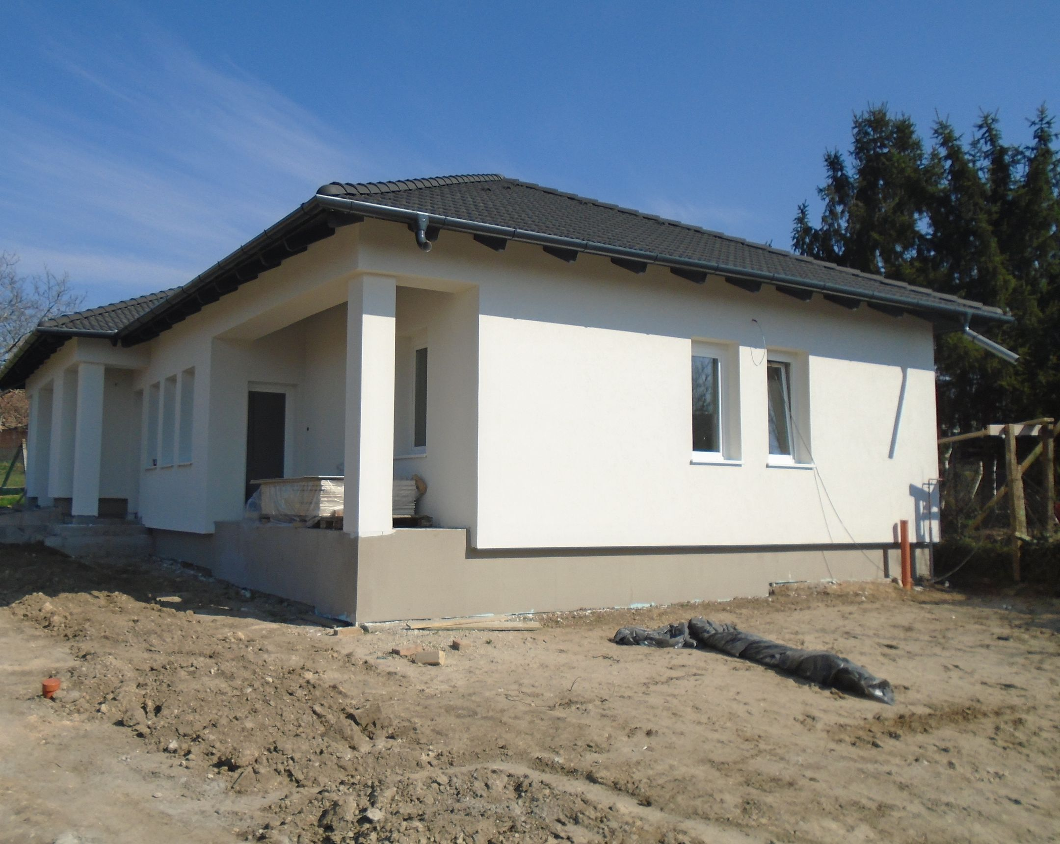 Maglód egy kellemes,csendes utcájában új építésű,önálló családi ház eladó!