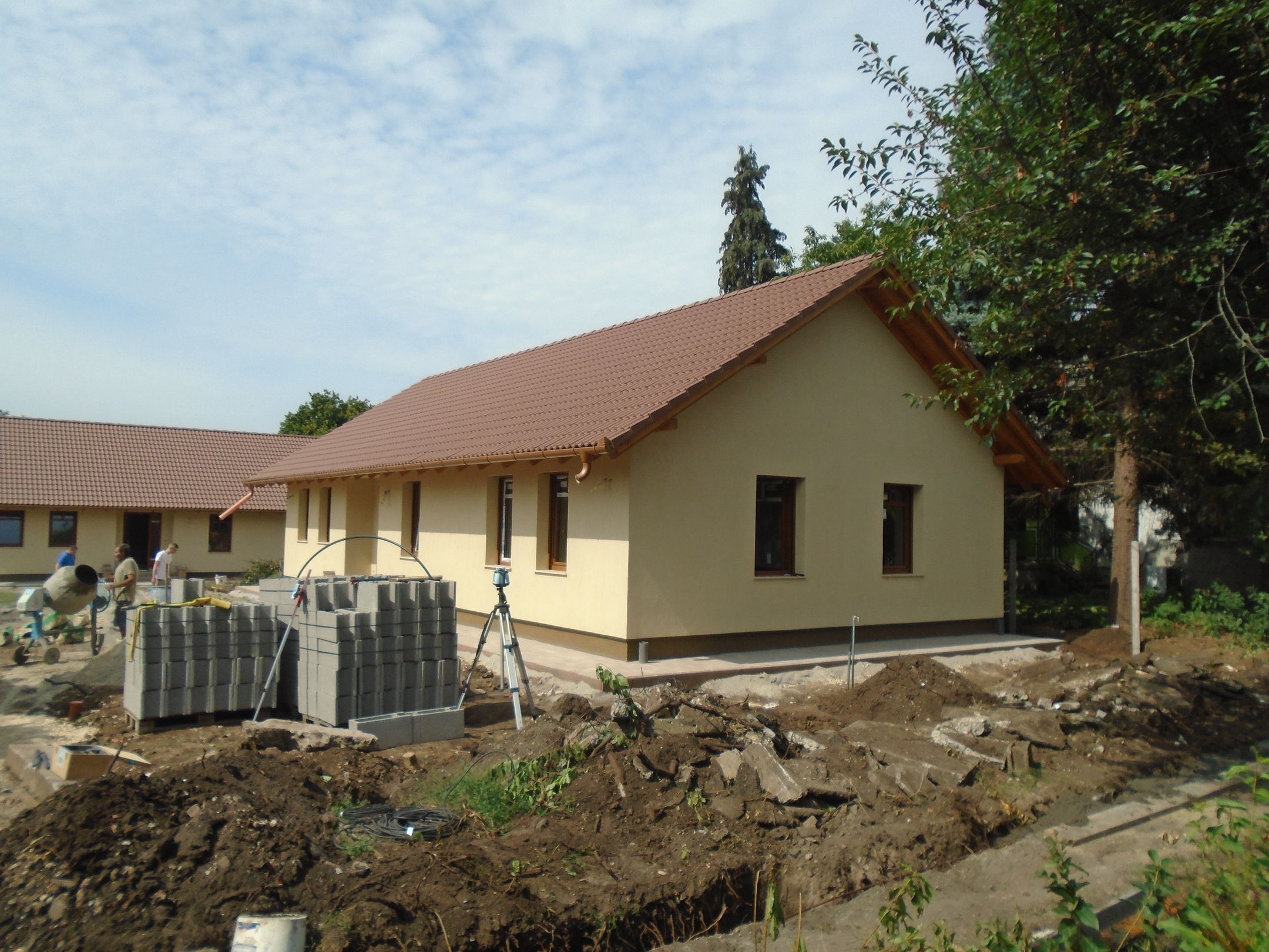 Gyömrőn családi házas környezetben új építésű,önálló családi ház eladó!