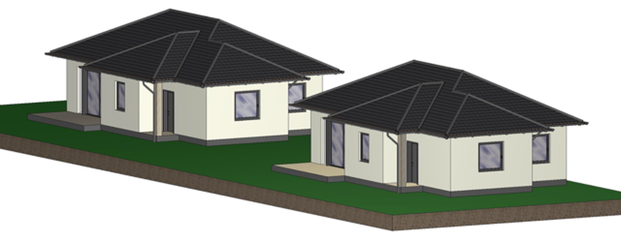 Ecser egyik közkedvelt,szép részén, igényesen kivitelezett,új építésű családi házak eladók!