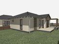 Új építésű családi ház, mini lakóparkban