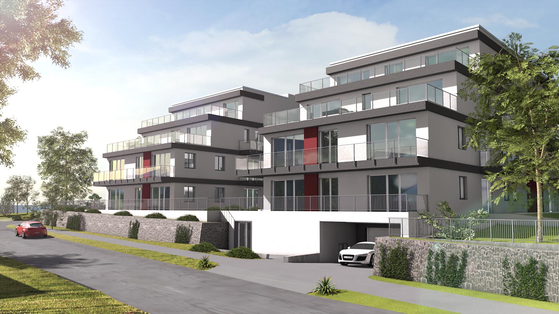Pécelen, a központhoz közel, új építésű társasházi lakások eladók!