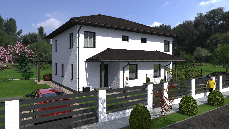 Vácrátót egy nyugodt,új építésű lakóparkjában, tégla építésű,belső kétszintes,új építésű ikerlakás eladó!