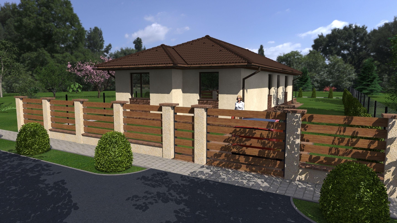 Tököl belvárosi részén,családi házas környezetben eladó egy új építésű,önálló családi ház!