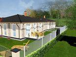 Gyömrőn,családi házas,csendes övezetben,új építésű ikerház eladó!